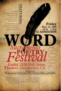 Word Poetry Festival @ Sacramento Poetry Center 11/13/09